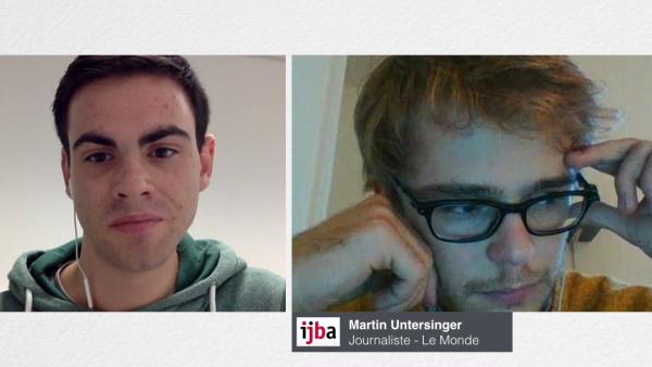 Entretien avec Martin Untersinger